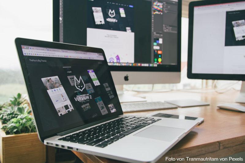 Kreatives Arbeiten in einer Werbeagentur
